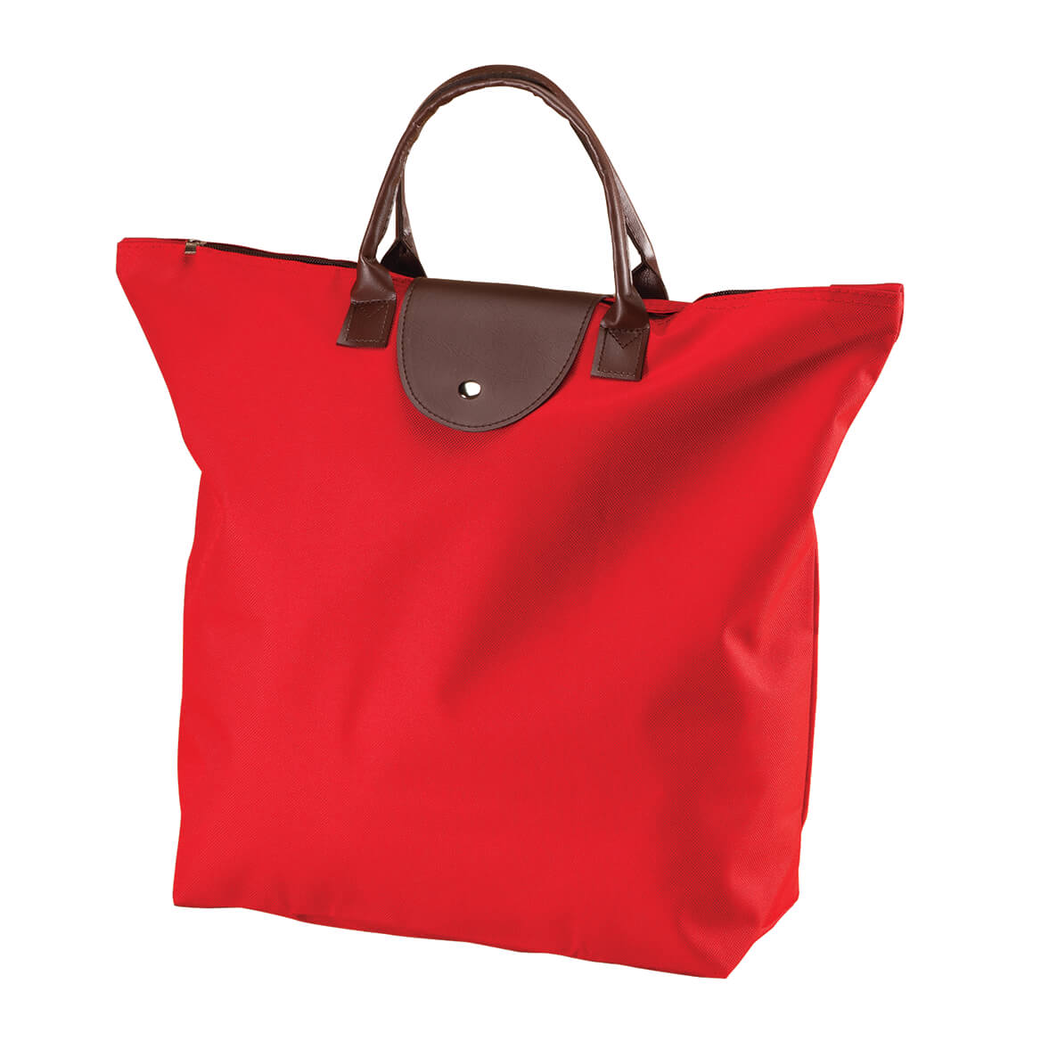 Red Foldable Tote