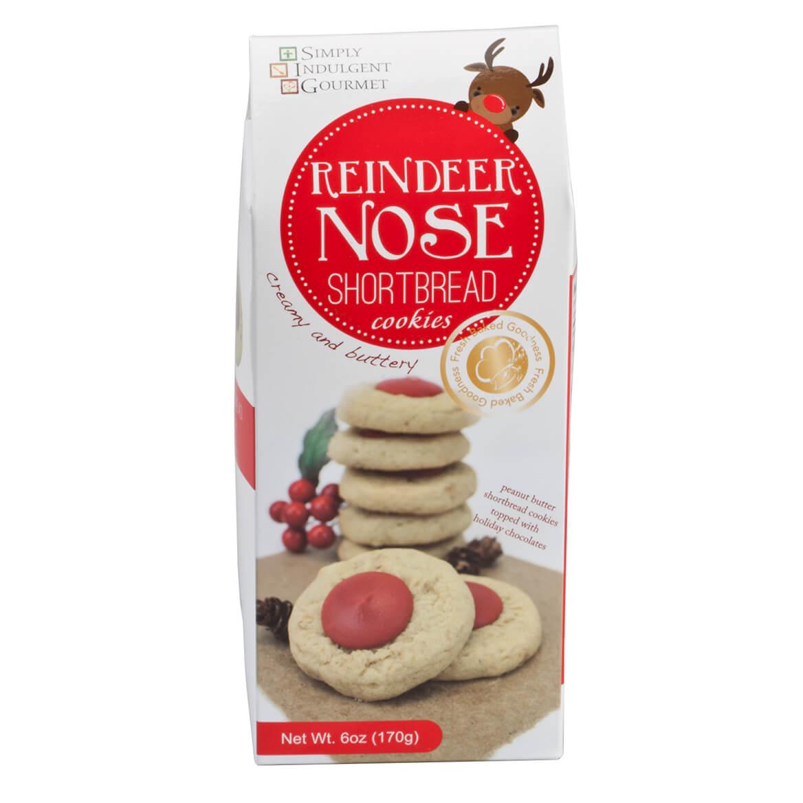 Reindeer Nose Peanut Butter Cookies 6 oz.