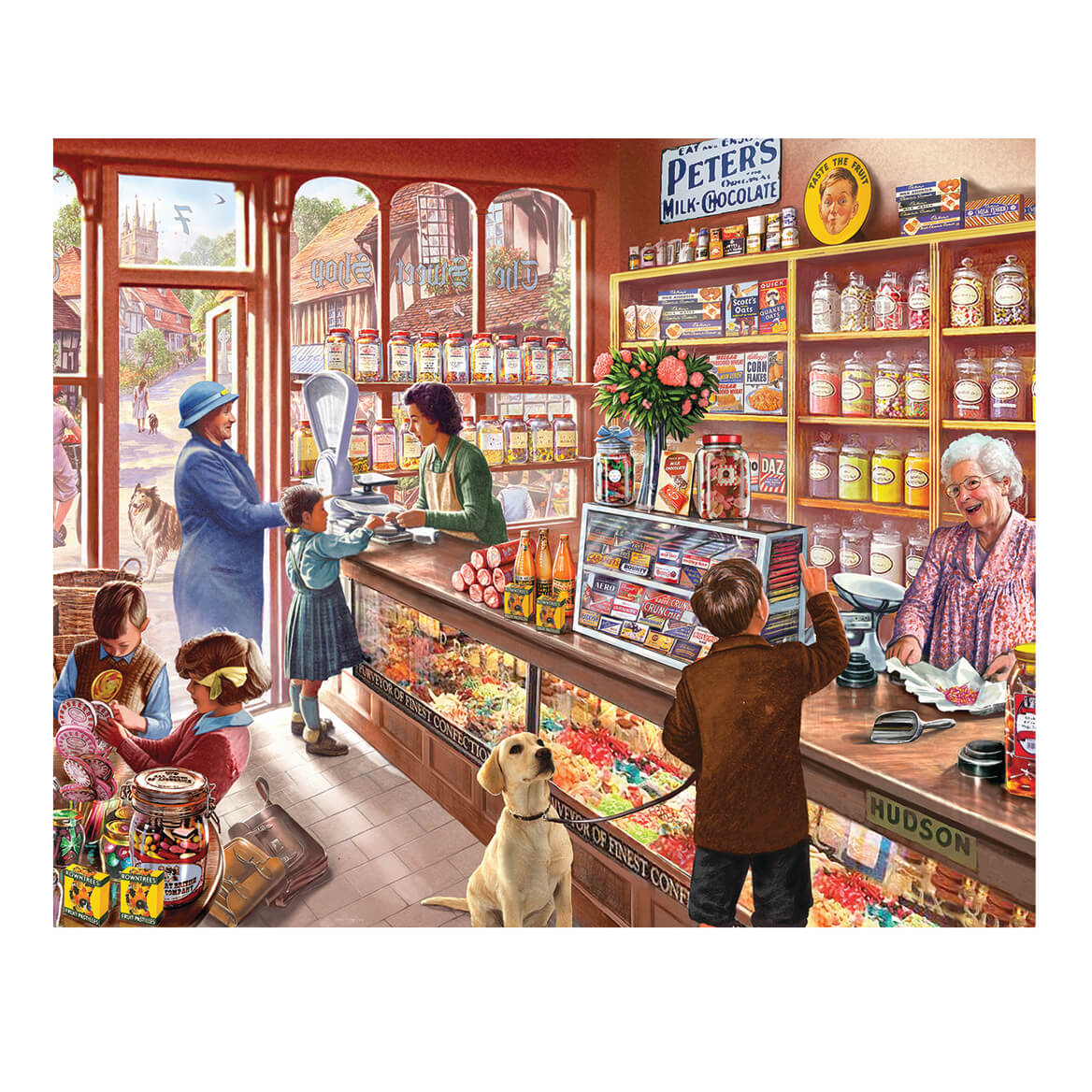 Old Candy Store 1000 Pc. Puzzle