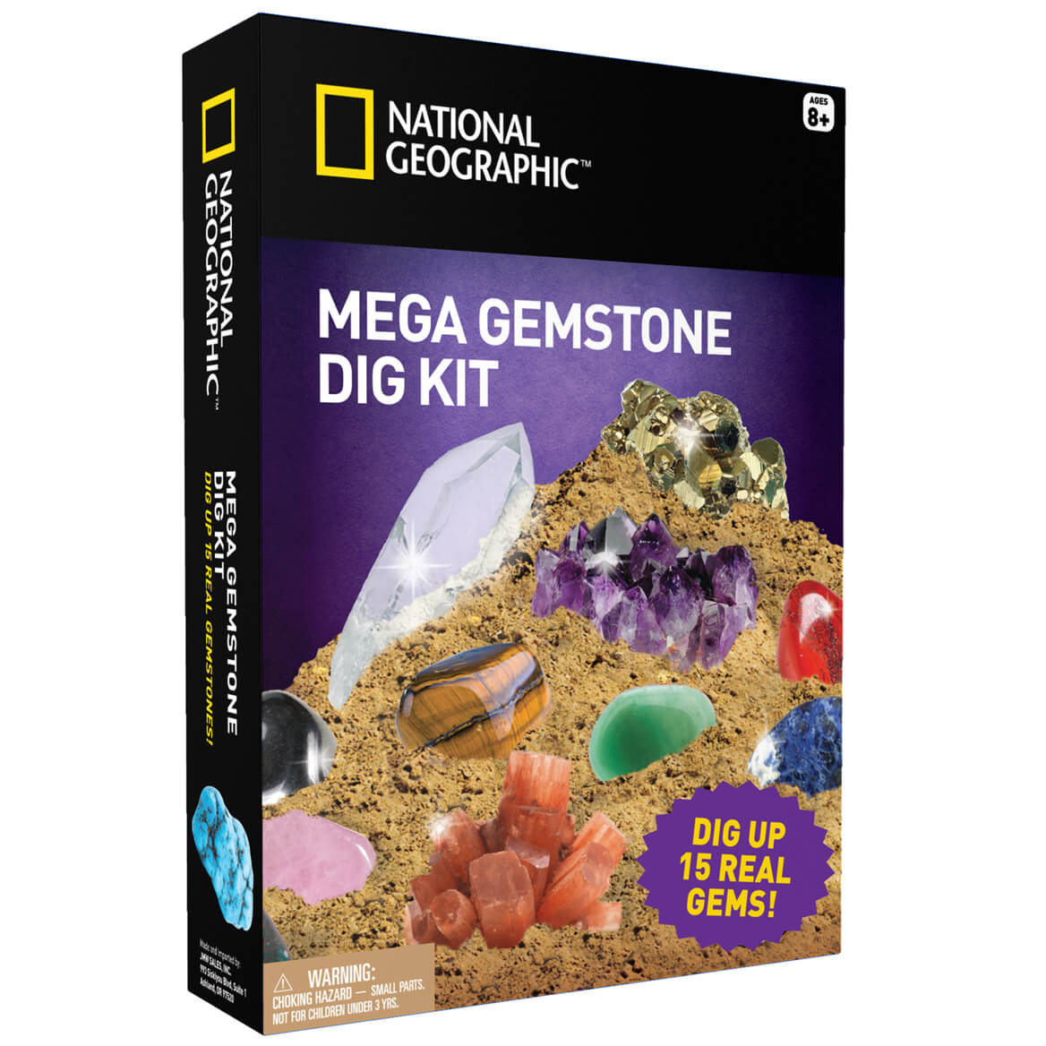National Geographic™ Mega Gemstone Mine Dig Kit