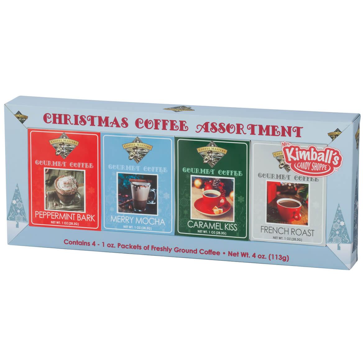Christmas Coffee, Set of 4