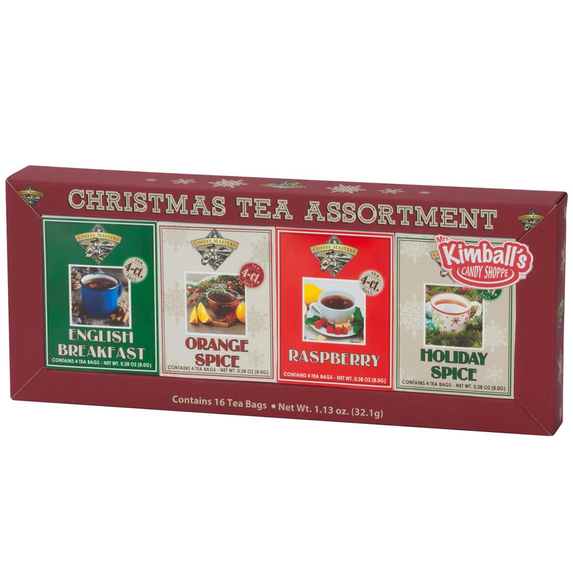 Christmas Tea, Set of 4