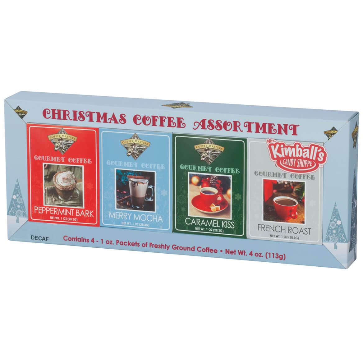 Christmas Decaf Coffee, Set of 4