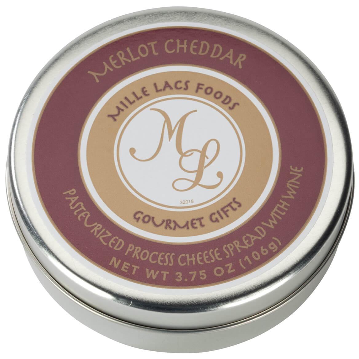 Merlot Cheddar Cheese Spread, 3.75 oz.-361074