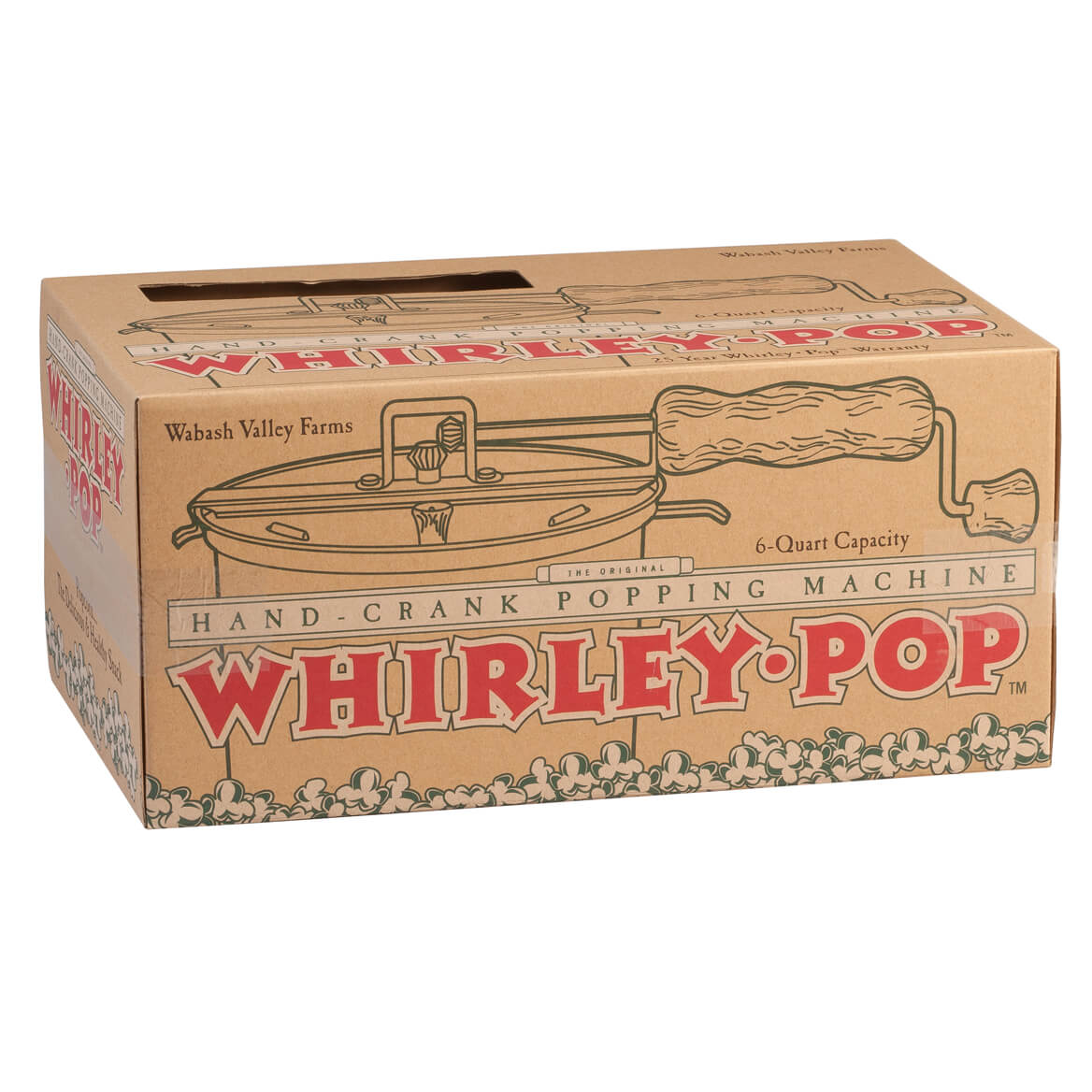Whirley-Pop and 5 pack of Popcorn