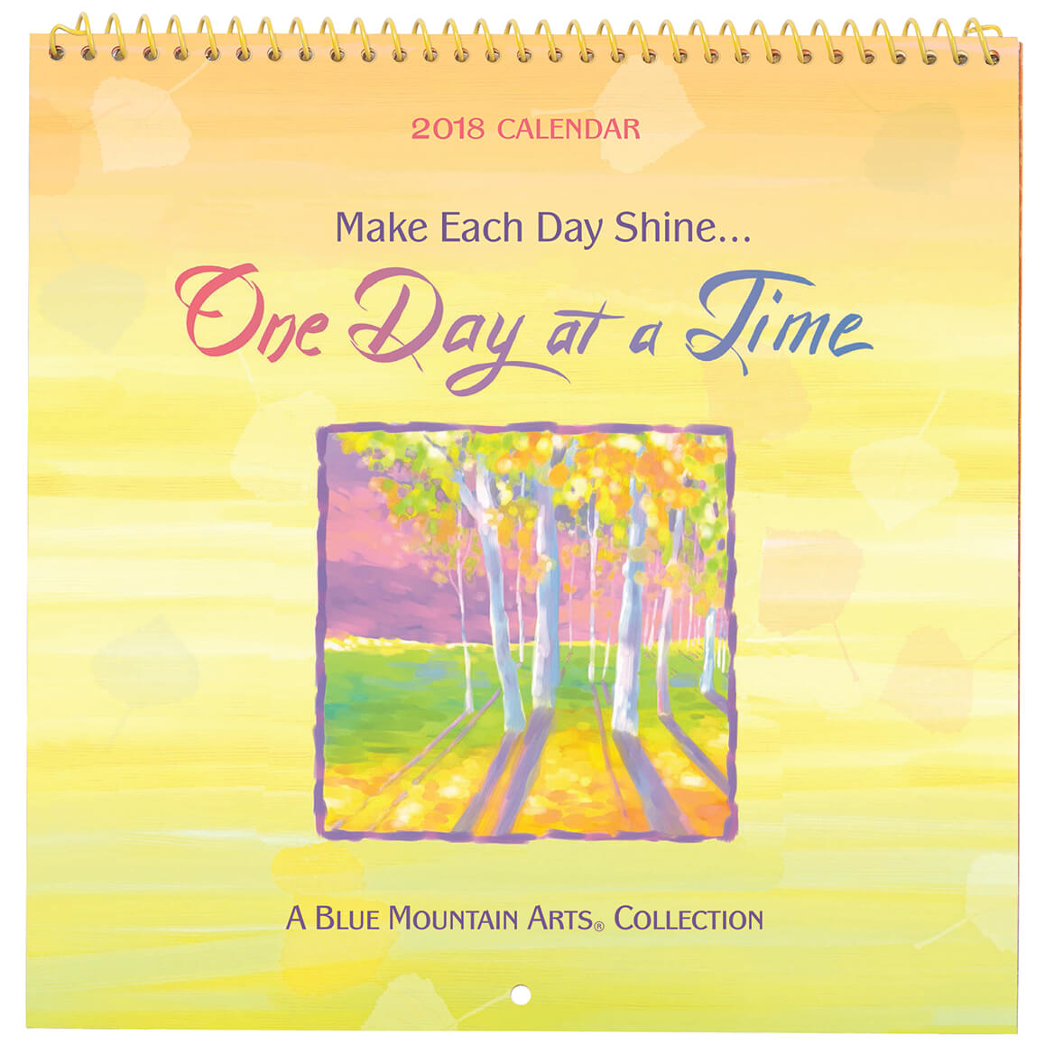 One Day at a Time Mini Wall Calendar
