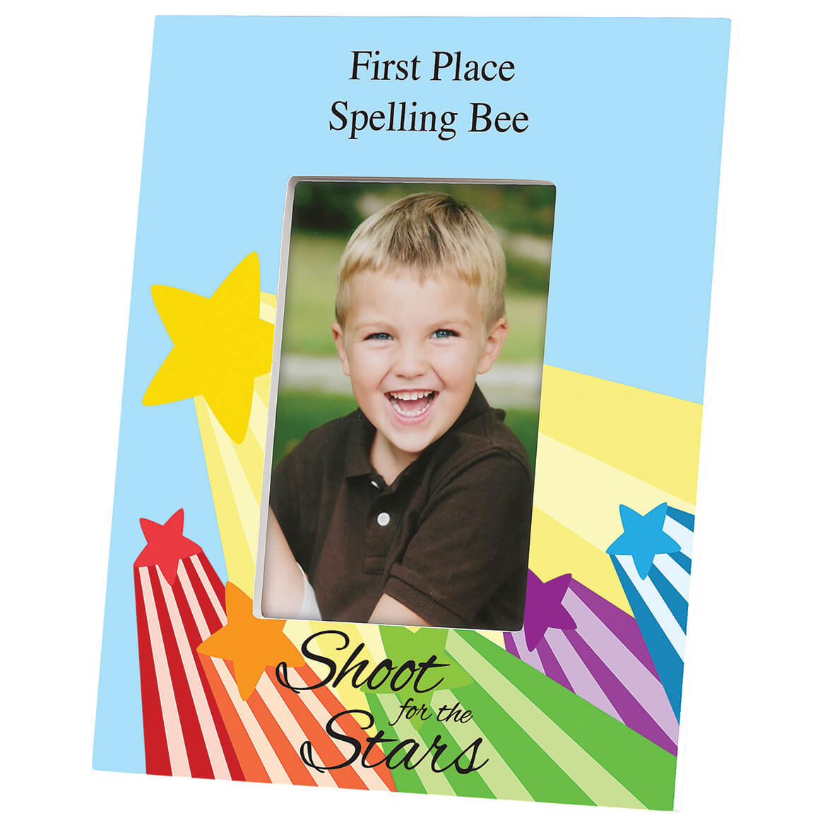Personalized Shoot For The Stars Frame Vertical-361263