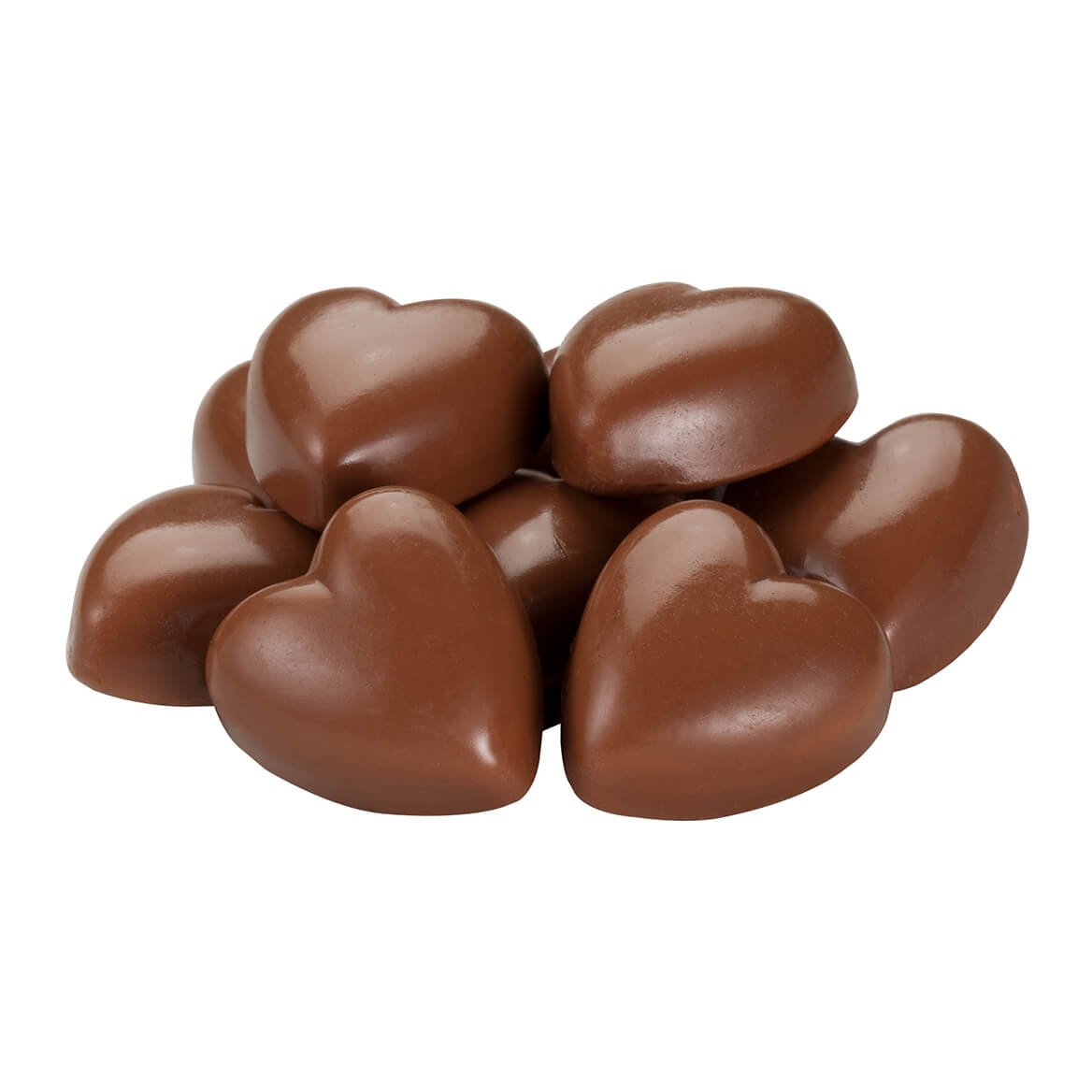 Milk Chocolate Caramel Hearts, 7 oz.