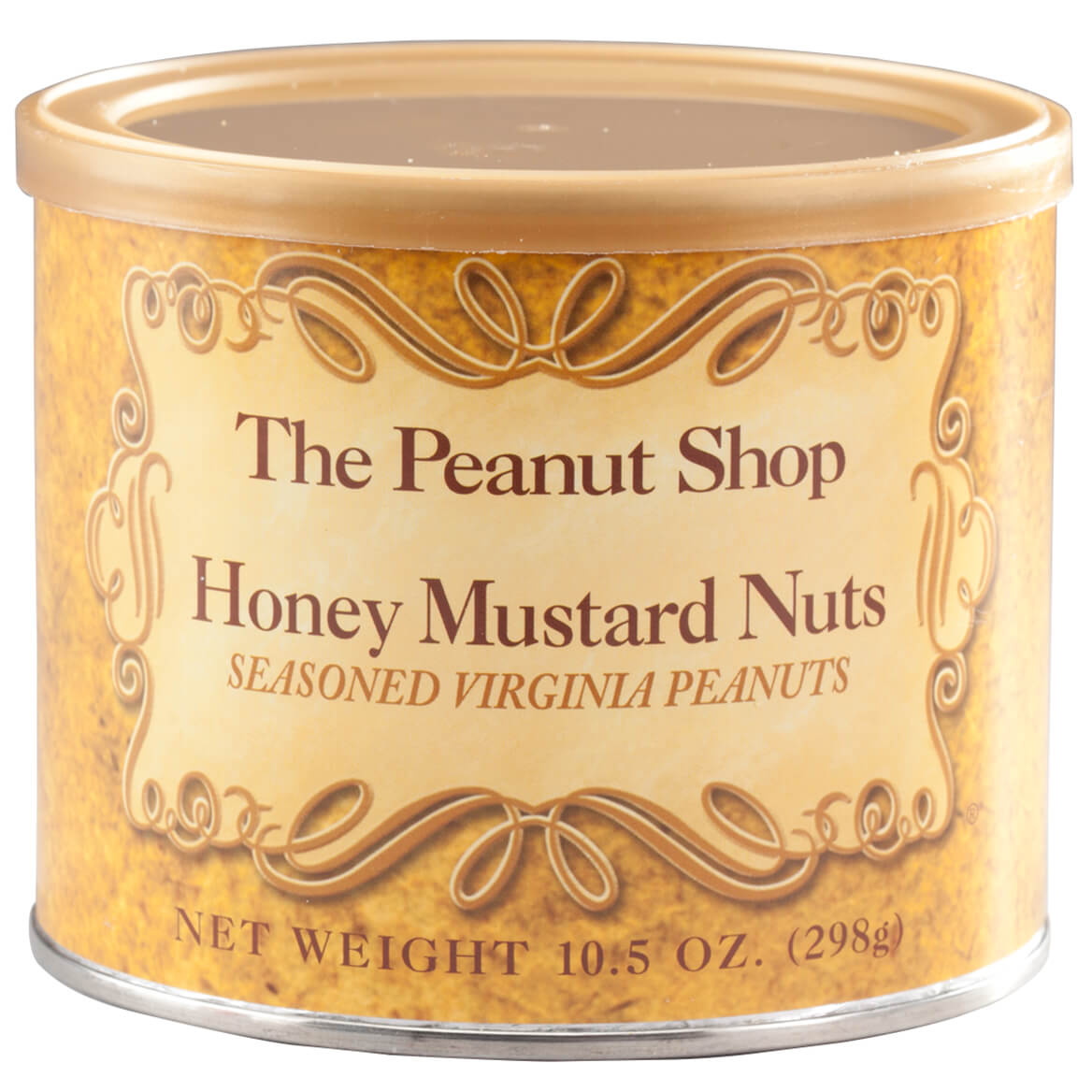 The Peanut Shop® Honey Mustard Peanuts, 10.5 oz.