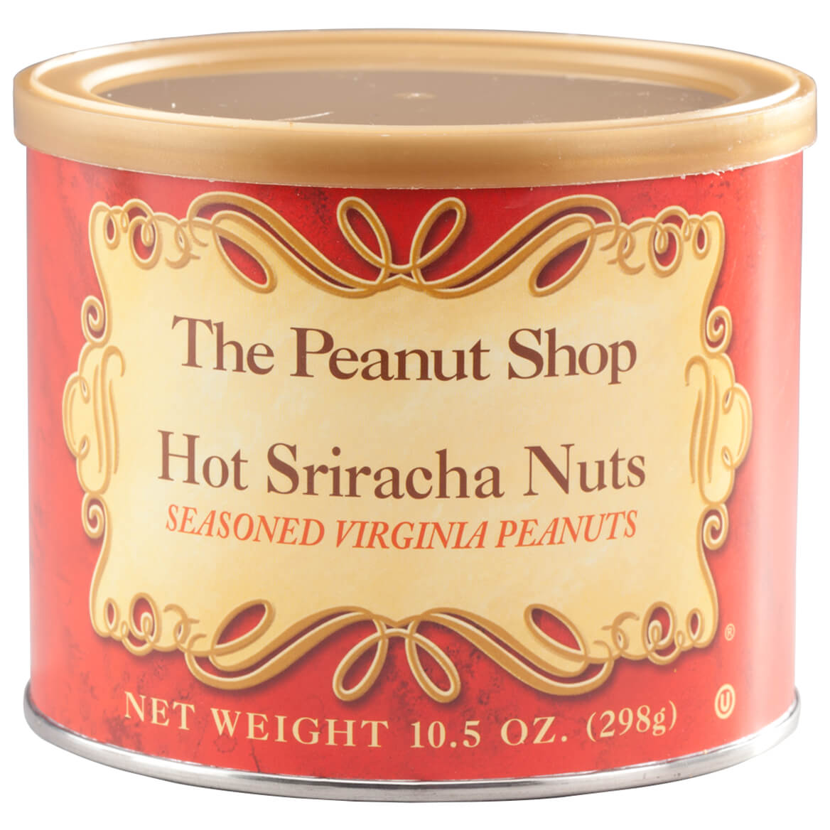 The Peanut Shop® Hot Siracha Peanuts, 10.5oz.