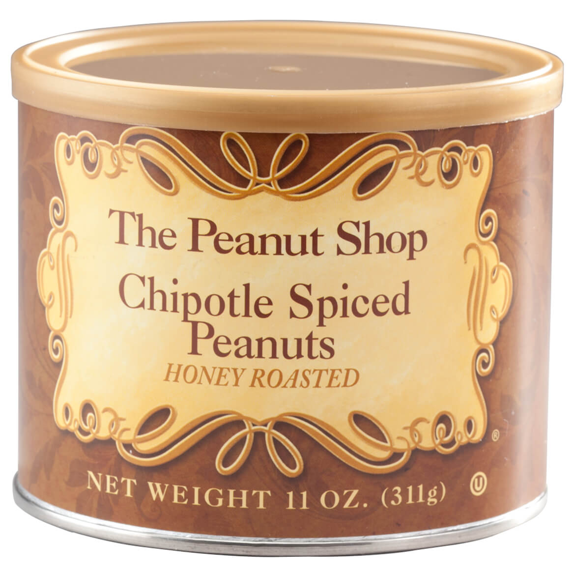 The Peanut Shop® Honey Roasted Chipotle Spiced Peanuts, 11oz