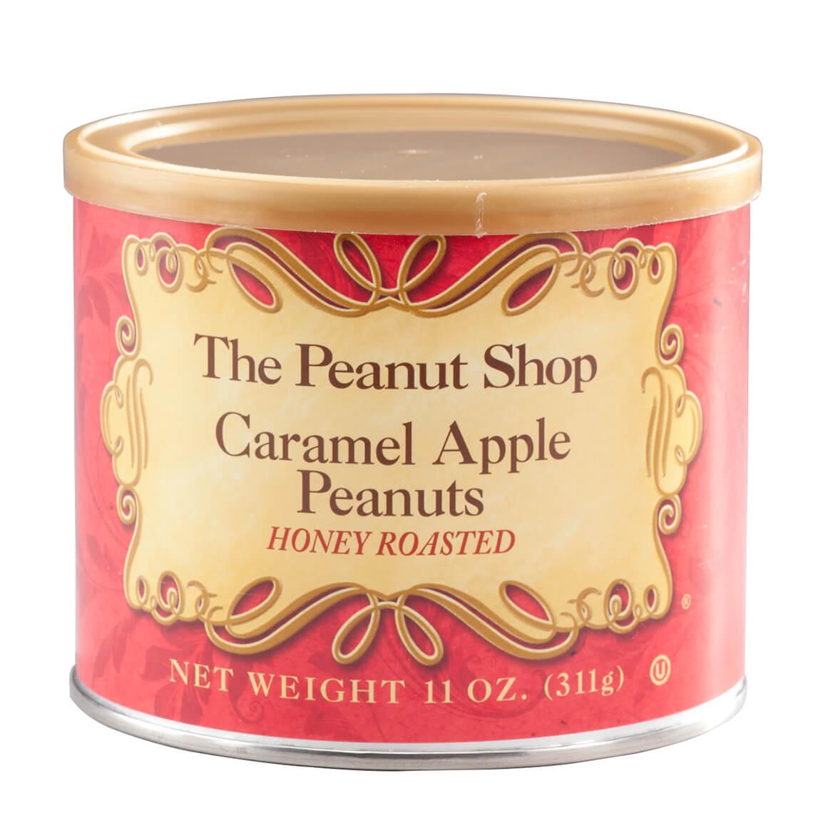 The Peanut Shop® Caramel Apple Honey Roasted Peanuts, 11 oz.