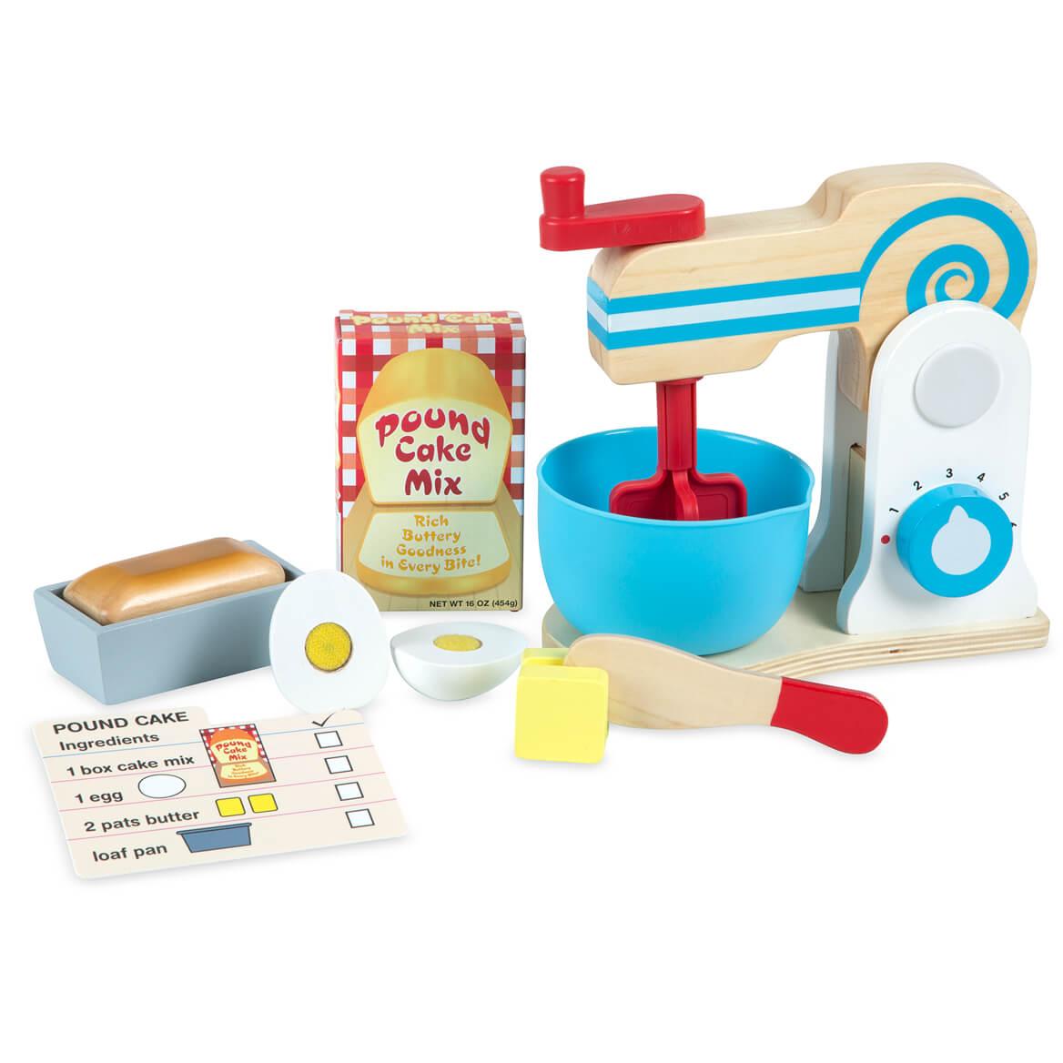 Melissa & Doug® Wooden Make A Cake Mixer Set