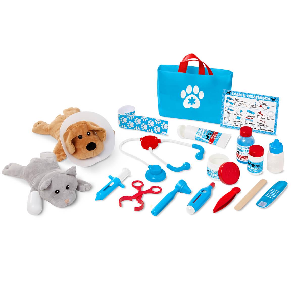 Melissa & Doug® Examine & Treat Pet Vet Play Set-361542