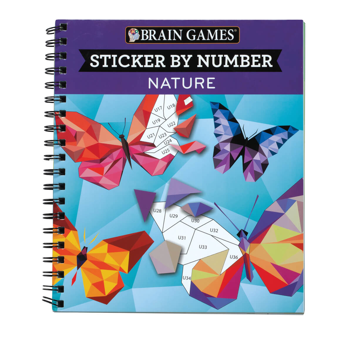 "Brain Games™ ""Nature"" Sticker By Number Book-361583"