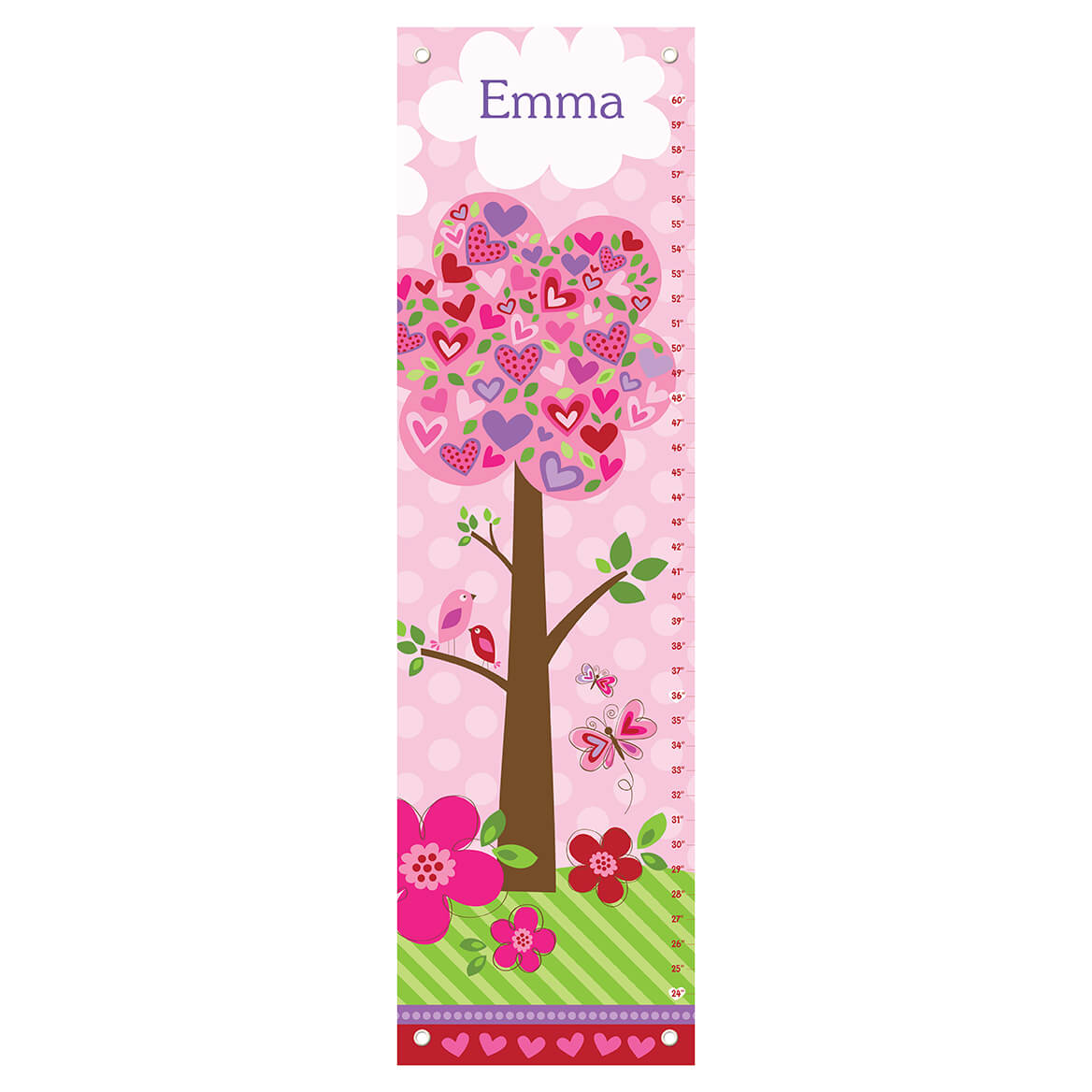 Love Is In The Air Personalized Growth Chart-361620