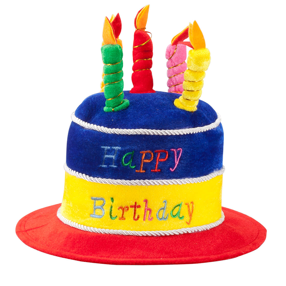 Plush Birthday Hat