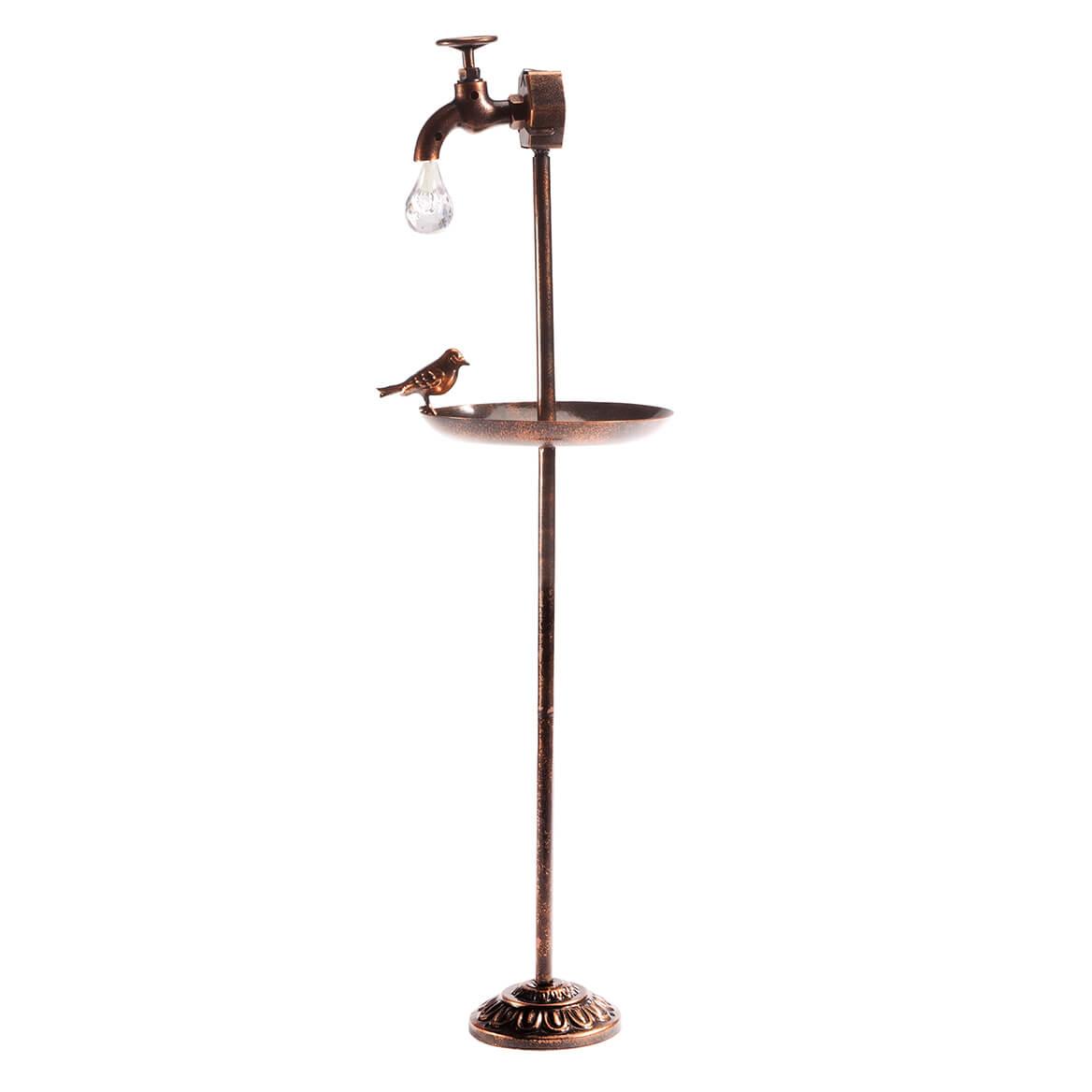 Solar Faucet with Bird Feeder