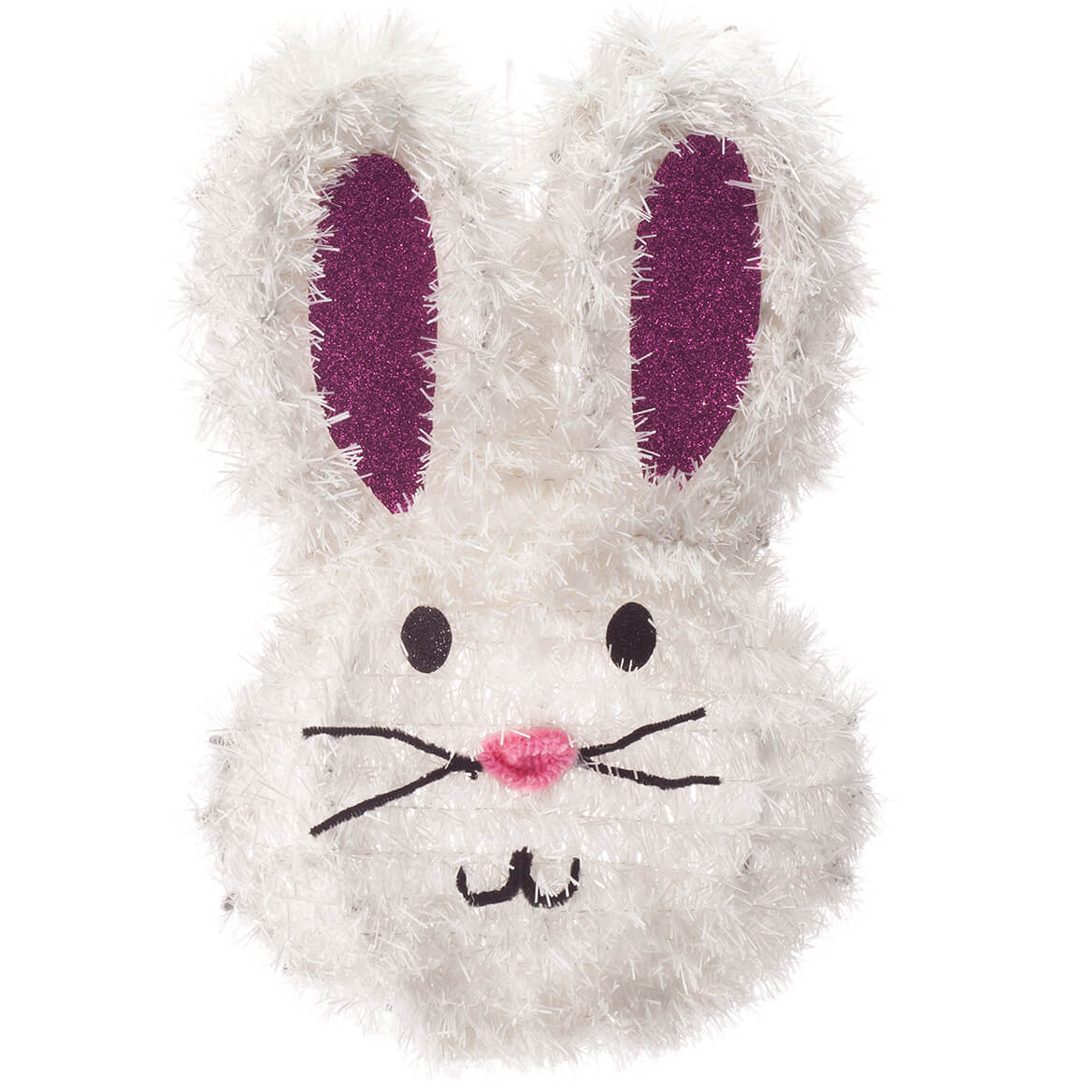 Glitter Bunny Hanging Decoration