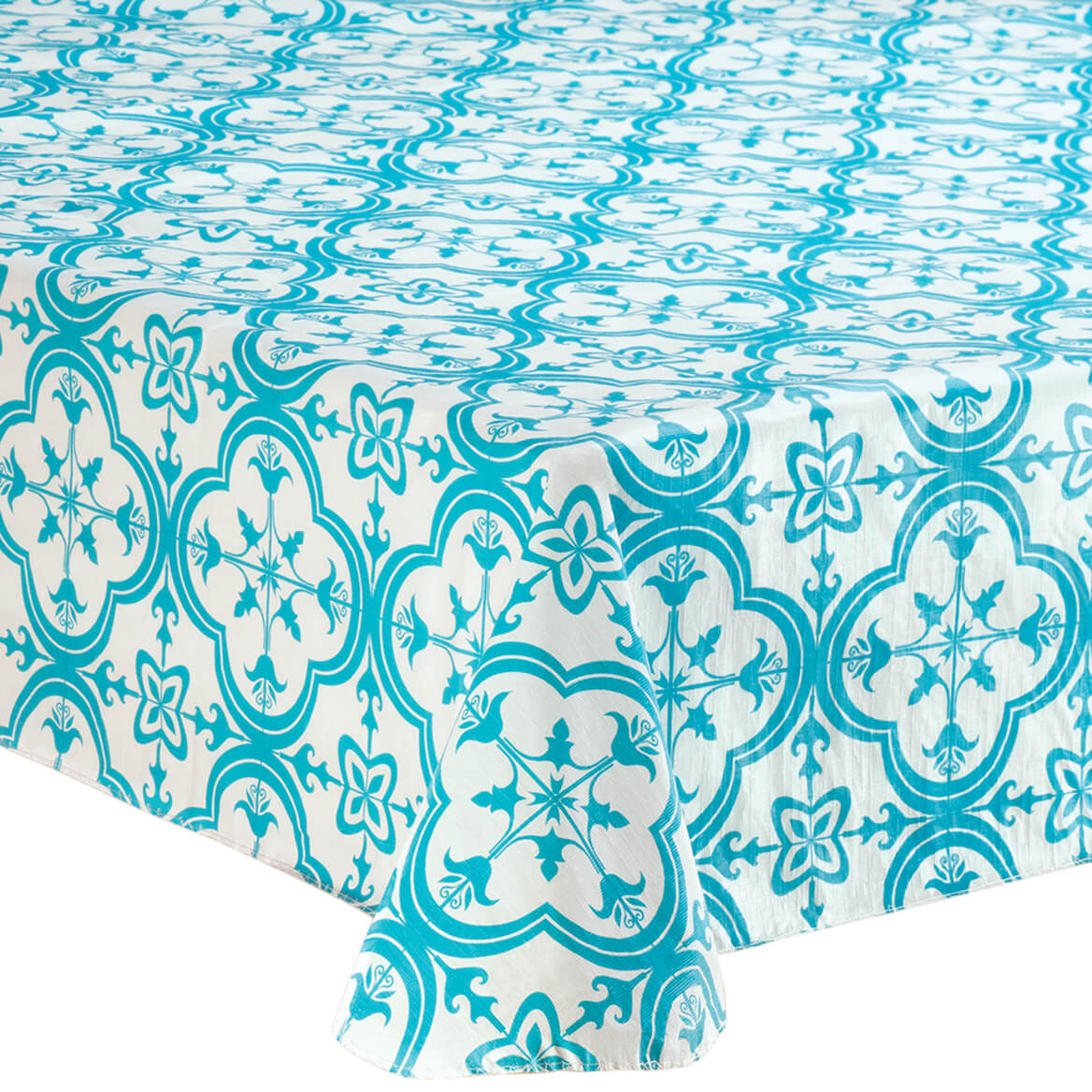 Tiles PEVA Vinyl Table Cover
