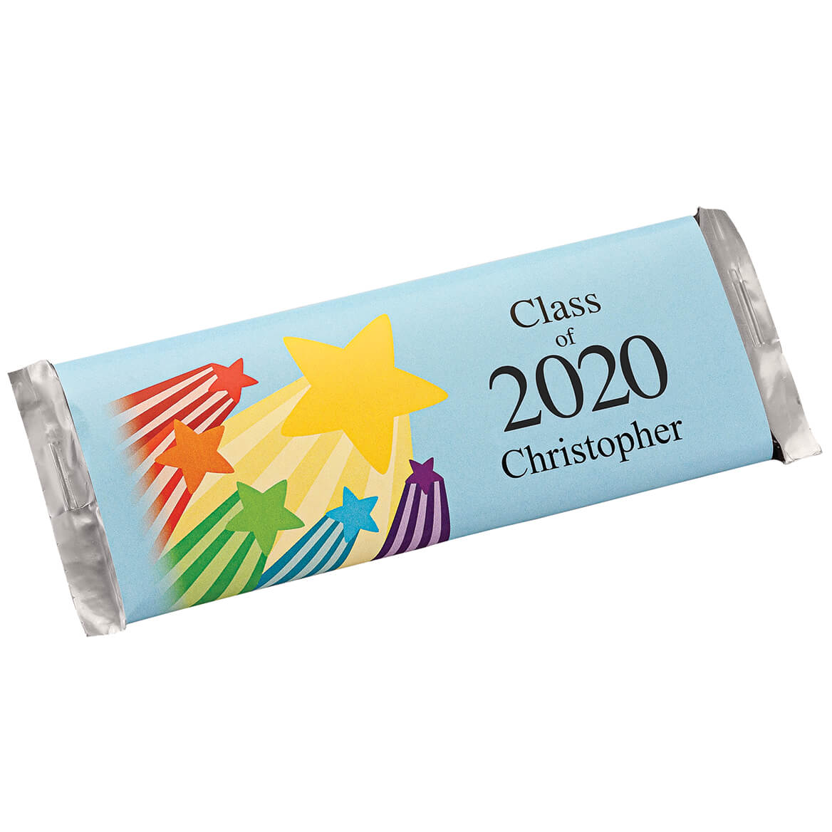Personalized Candy Bar Wrappers Graduation Stars Set of 24