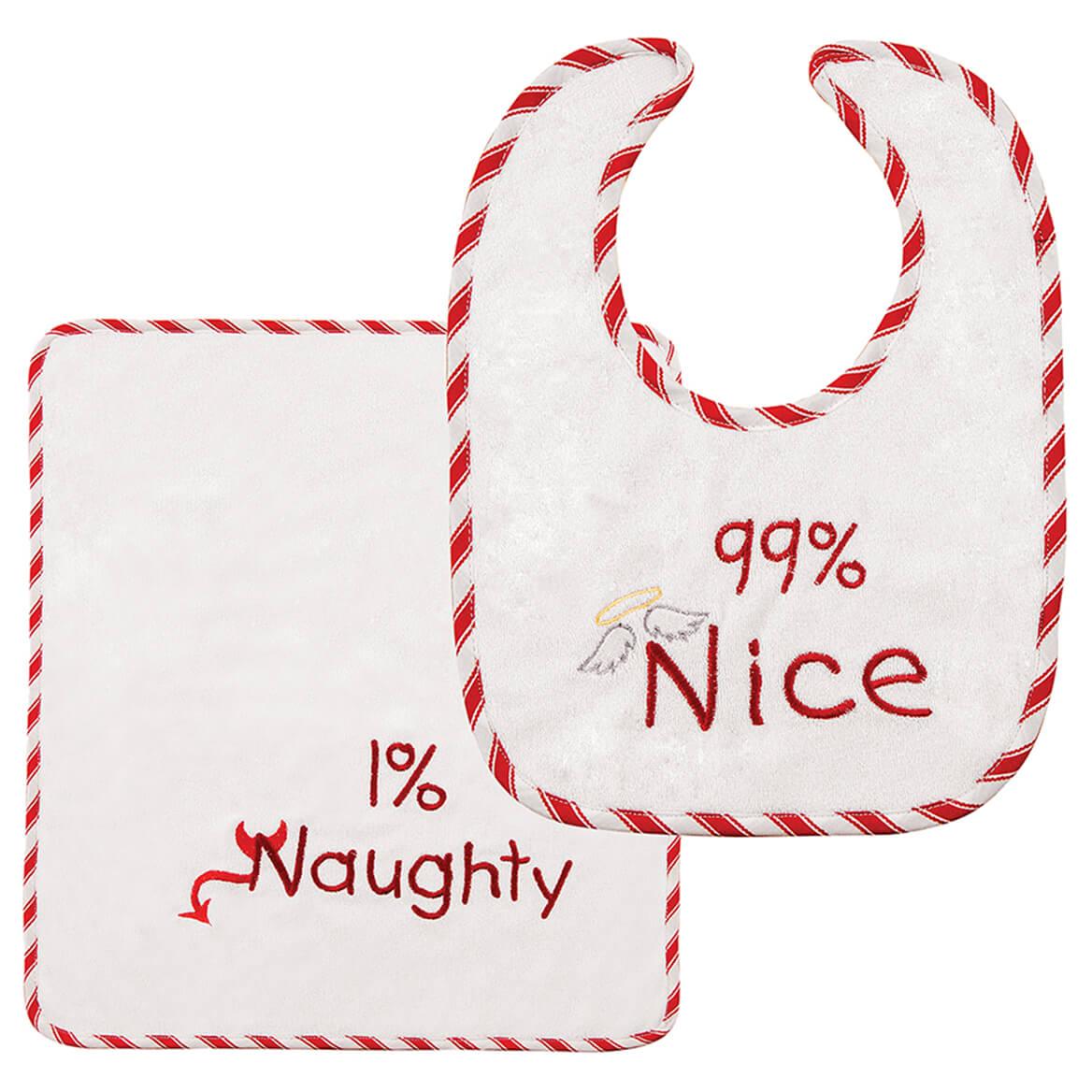 99% Nice Bib & Burp Cloth Set