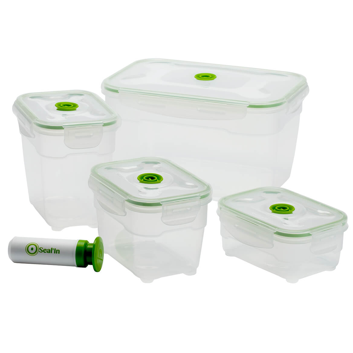 Seal'In 9pc Nestable Storage Containers