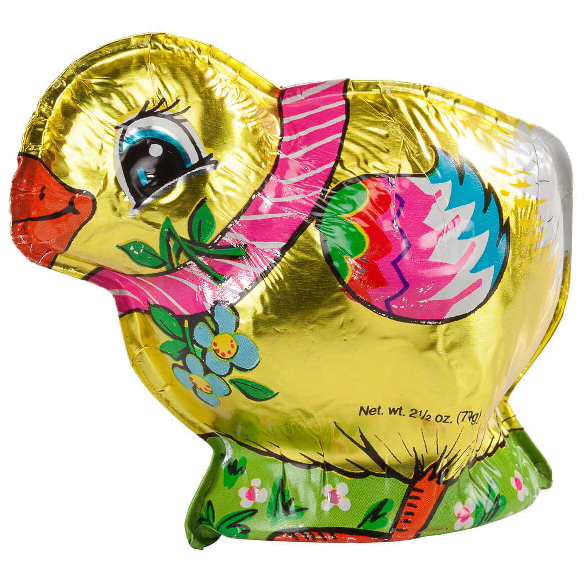 Madelaine® Chocolate Foil Wrapped Chocolate Chick, 2.5 oz.