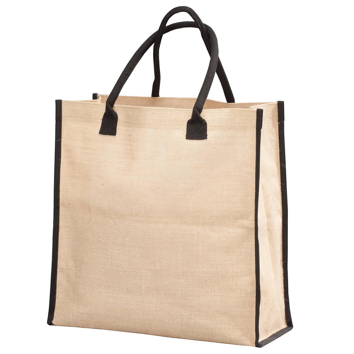 e3b815514 Burlap Tote - Tote Handbags - Womens Totes - Miles Kimball