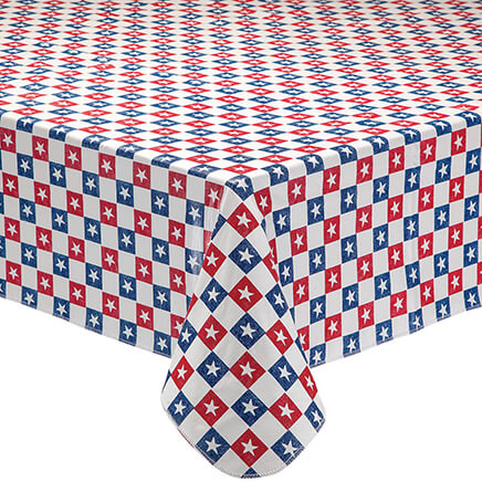 Table covers tablecloths kitchen table covers miles kimball american stars vinyl drop table cover 362738 workwithnaturefo