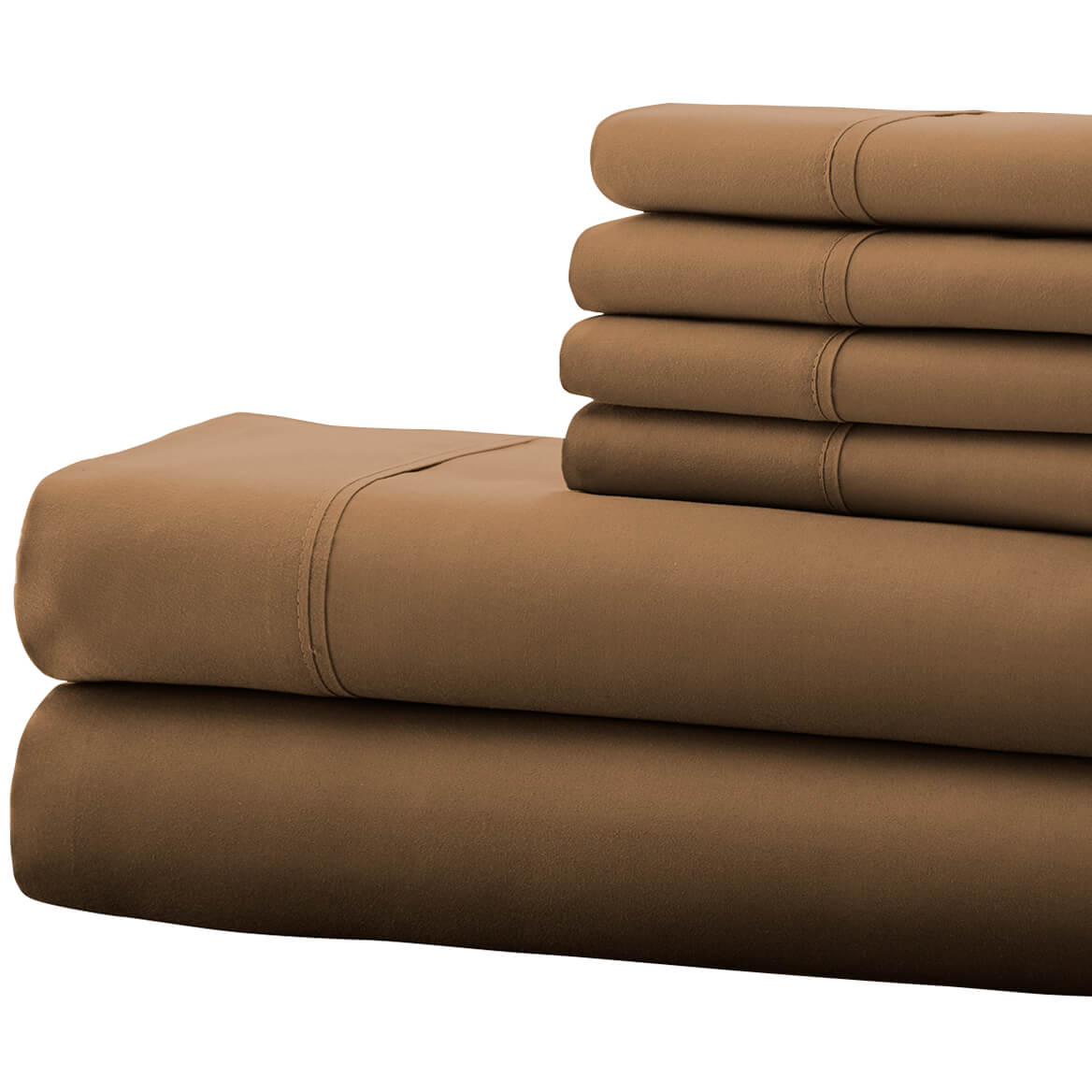 Hotel 5th Ave 4pc Microfiber Sheet Set - Taupe