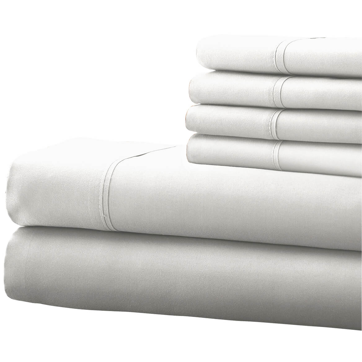 Hotel 5th Ave 4pc Microfiber Sheet Set - White