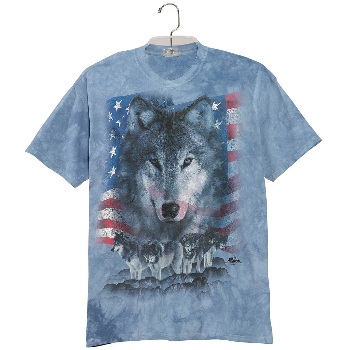 Patriotic Wolf Pack T Shirt