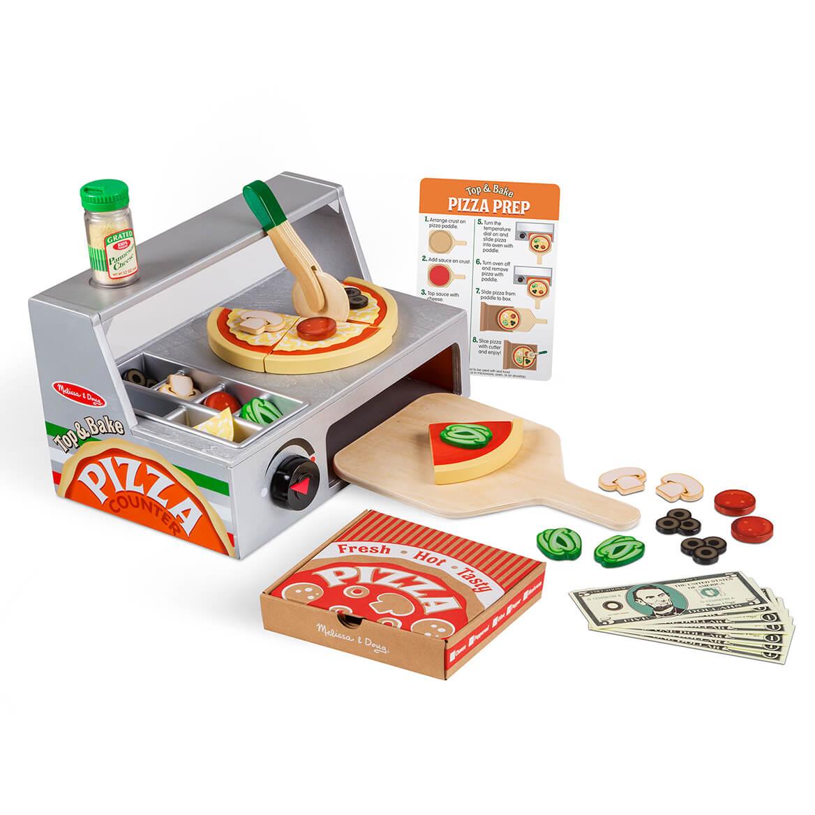Melissa & Doug® Top & Bake Pizza Counter-362831