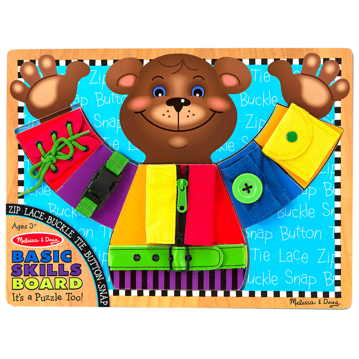 Melissa & Doug® Basic Skills Board