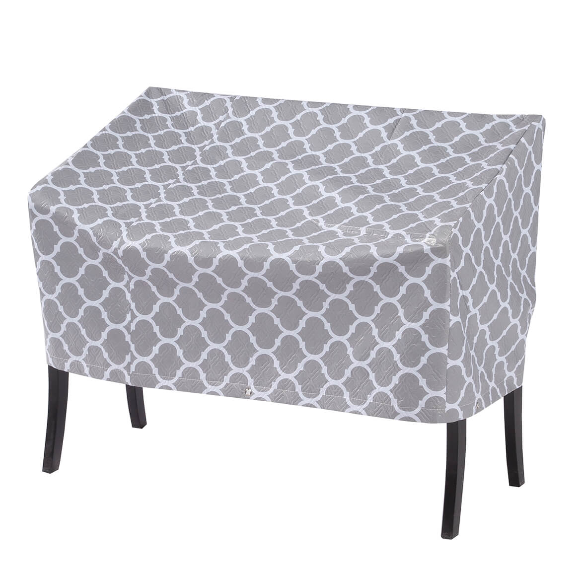 "Trellis Pattern Quilted Lounge Cover, 64""L x 33""H x 37""W-362890"