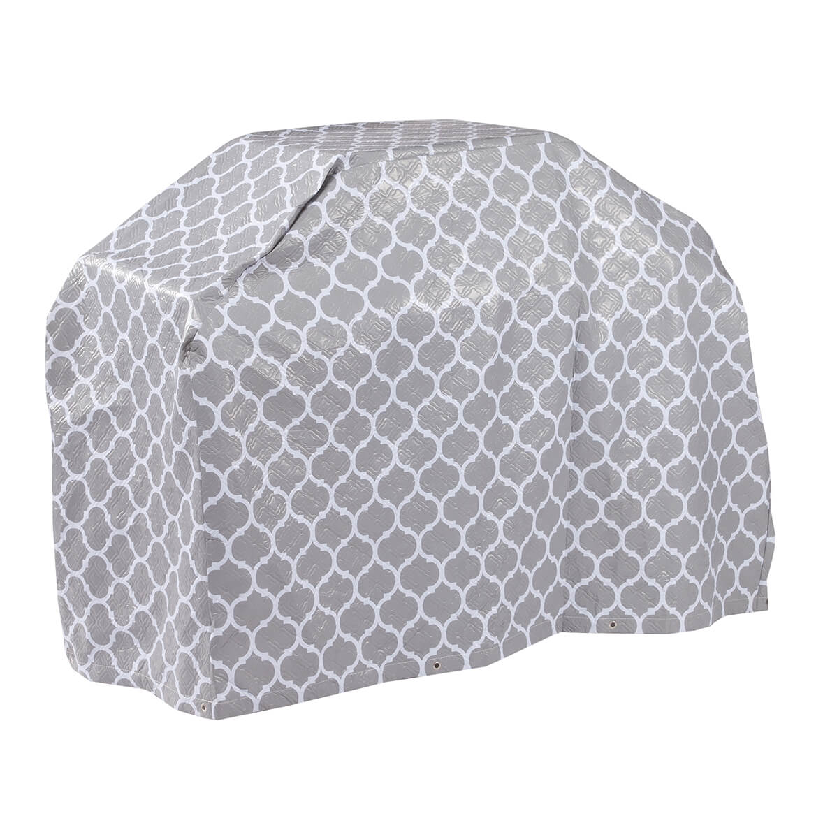 """Trellis Pattern Quilted Wagon Grill Cover, 60""""L x 42""""H x 22""""-362894"""