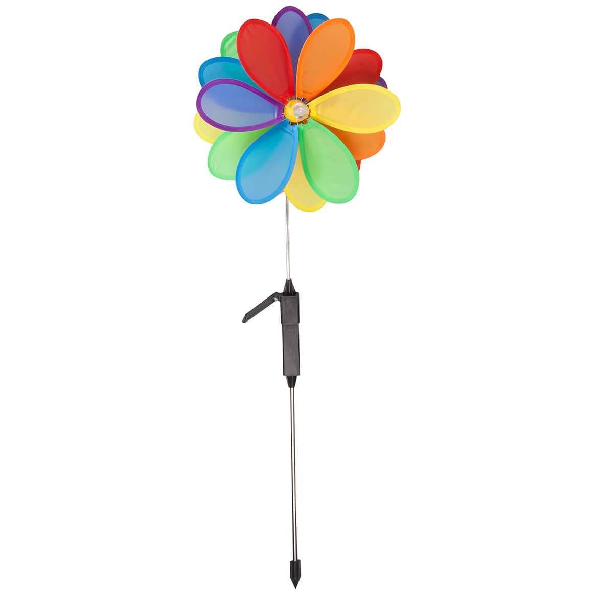 Solar Color-Changing Pinwheel