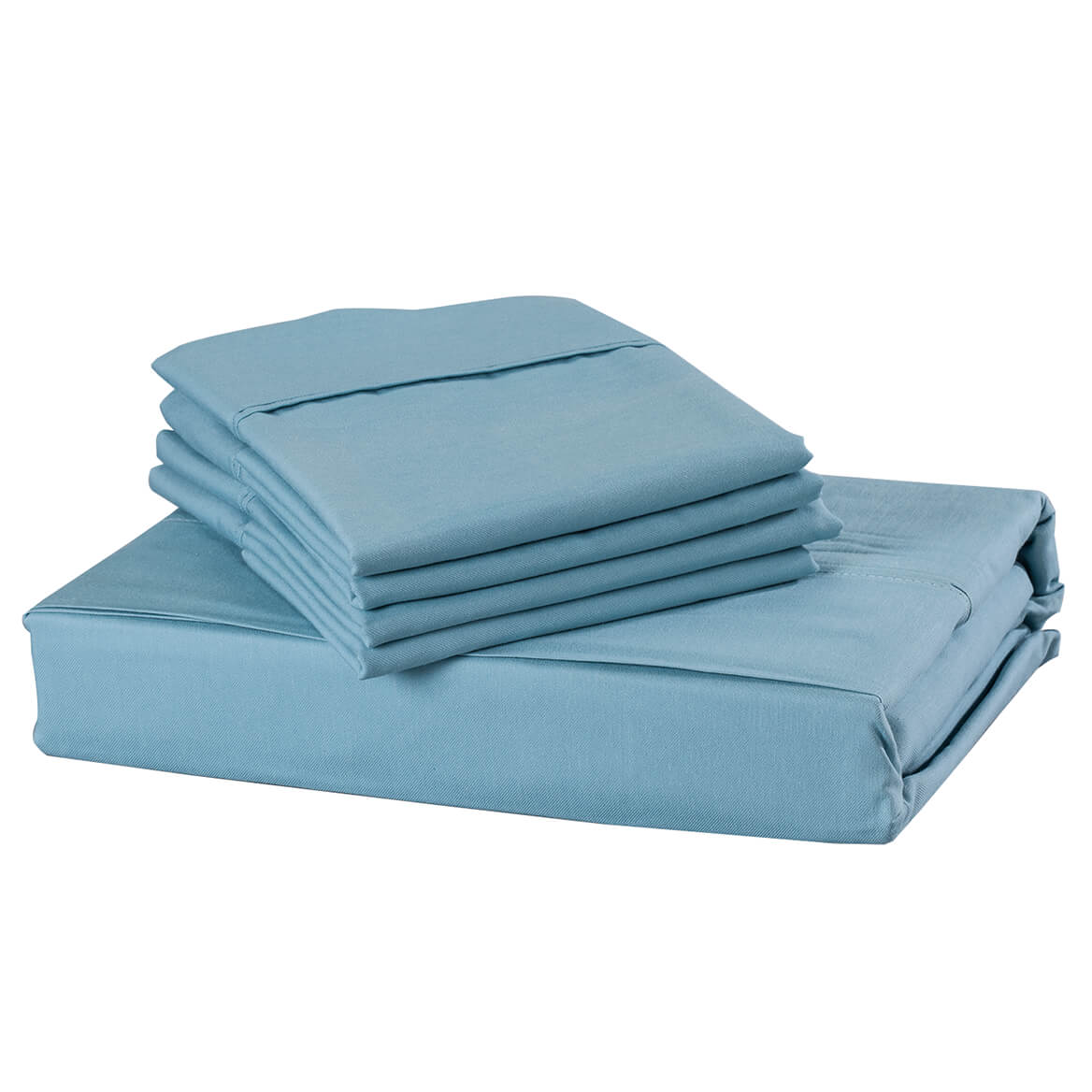 6-Piece 850 TC Cotton Rich Twill Sheet Set