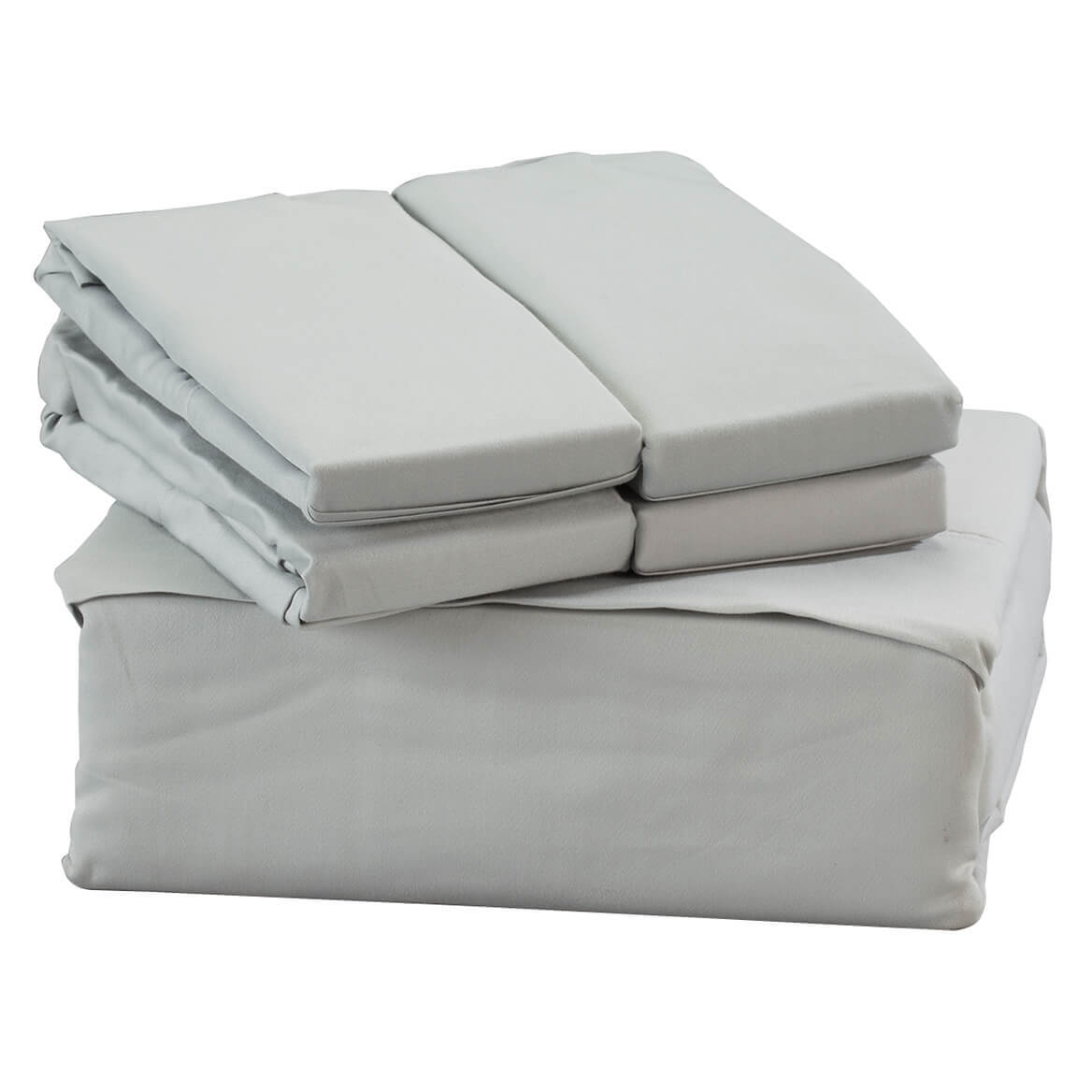 6-Piece 1800 TC Cotton Rich Sheet Set
