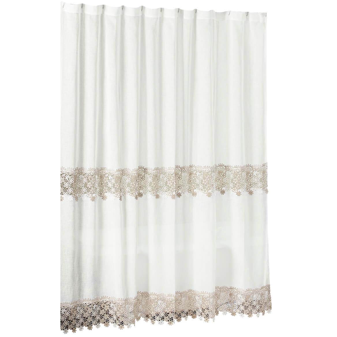 Lillian Macram Shower Curtain