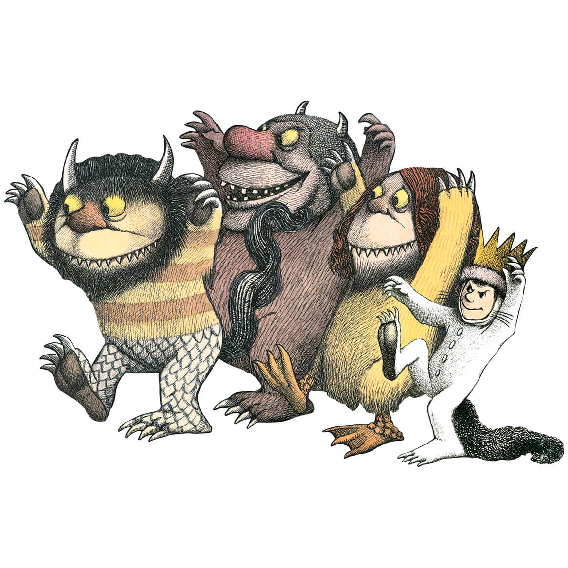 Children's Where the Wild Things Are 24 Piece Floor Puzzle