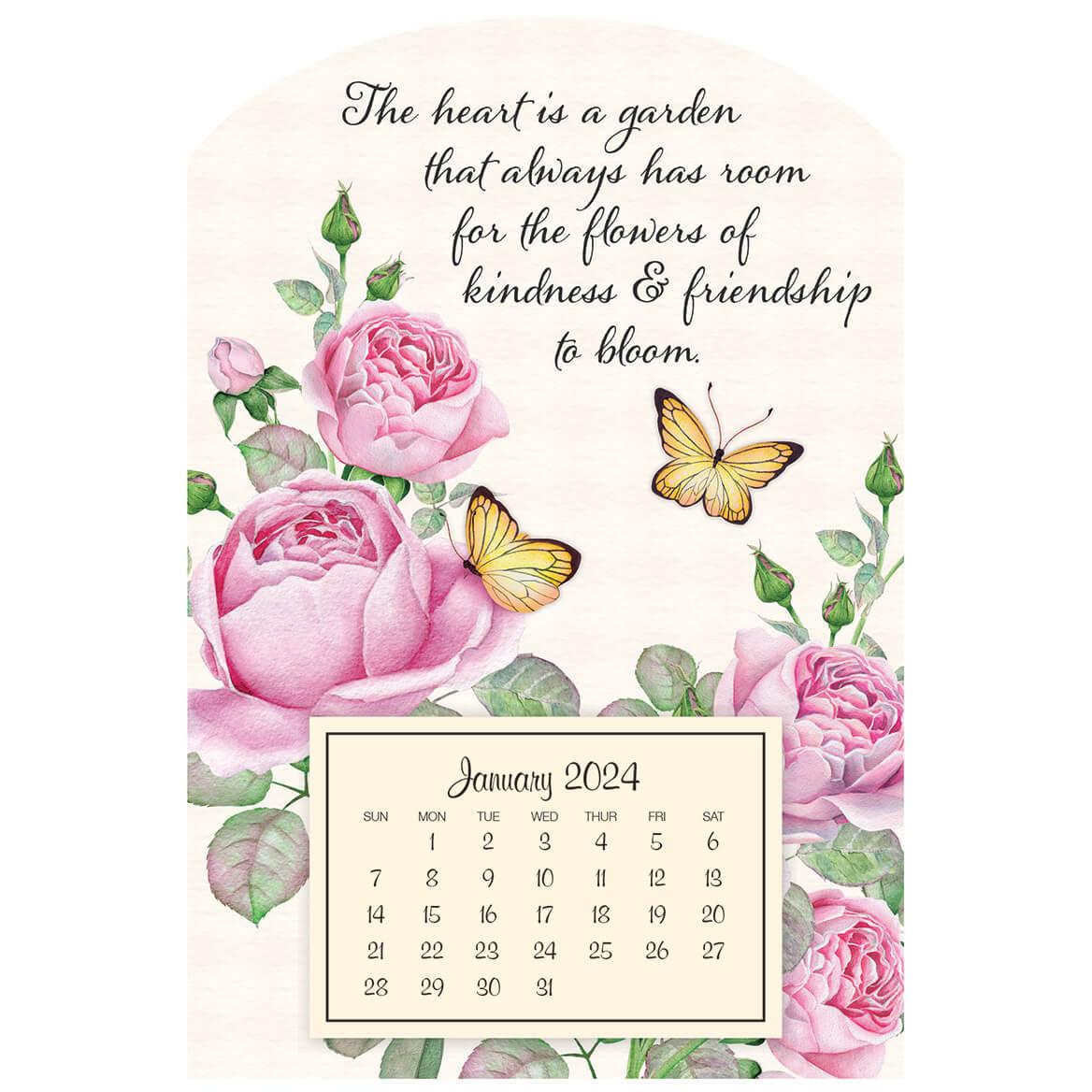 Mini Magnetic Calendar Pretty Butterflies-363218
