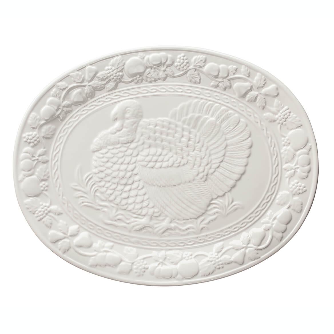 "William Roberts 17"" Oval Turkey Platter-363354"