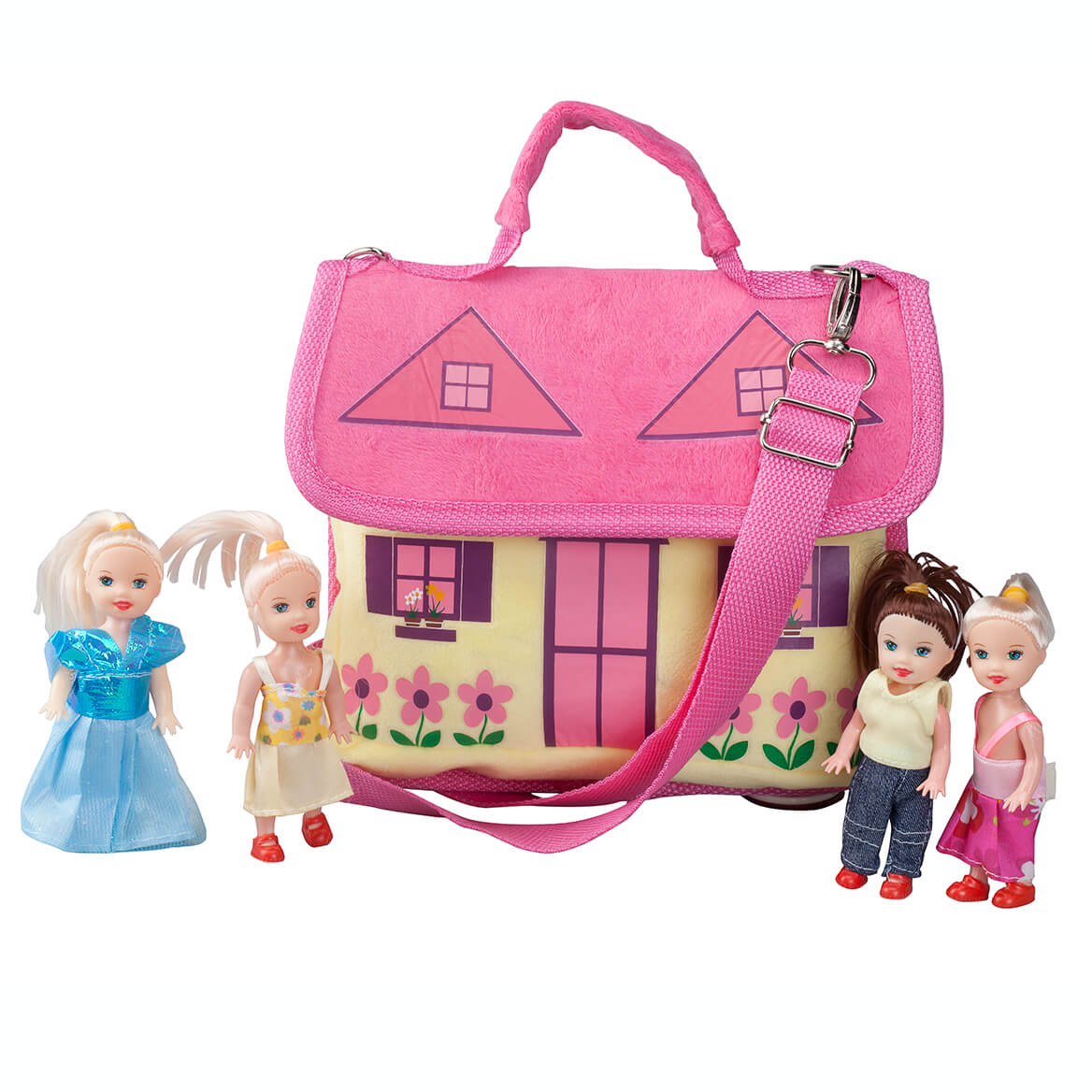 Purse with Dolls Set