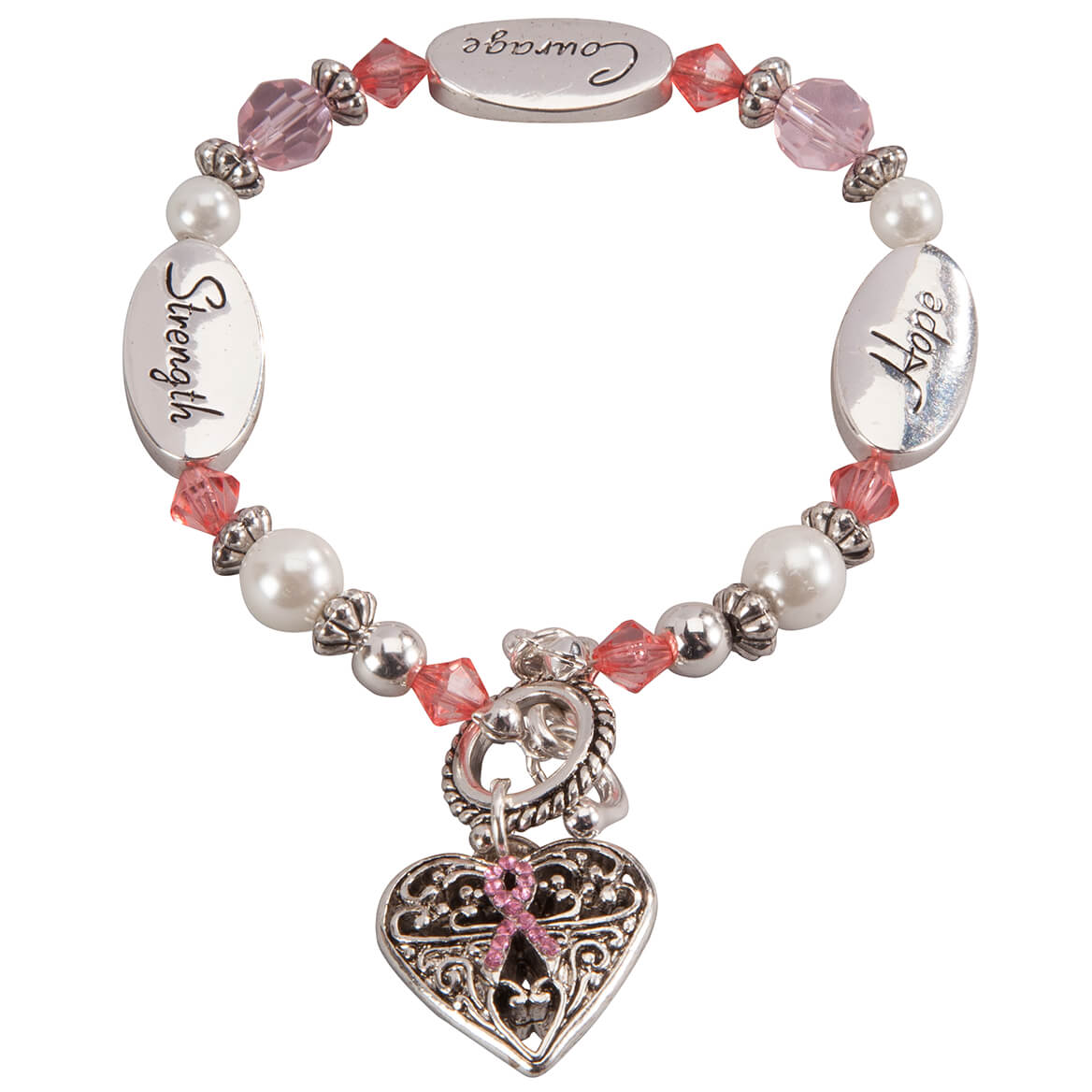Hope Strength Courage Bracelet