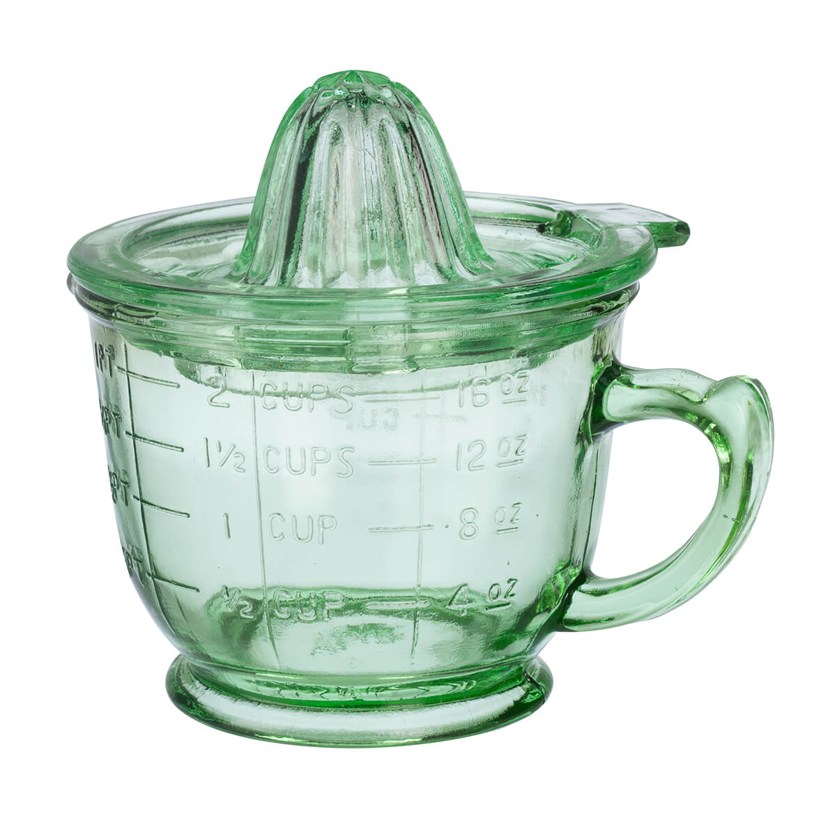 Nostaligia Glass 16oz. Citrus Juicer by Home MarketPlace-363814