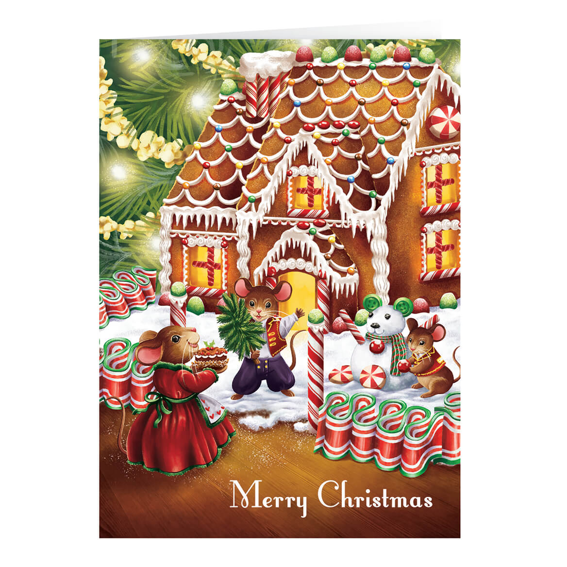 8ac3f39d27 Scented Recipe Gift - Personalized Christmas Cards - Miles Kimball