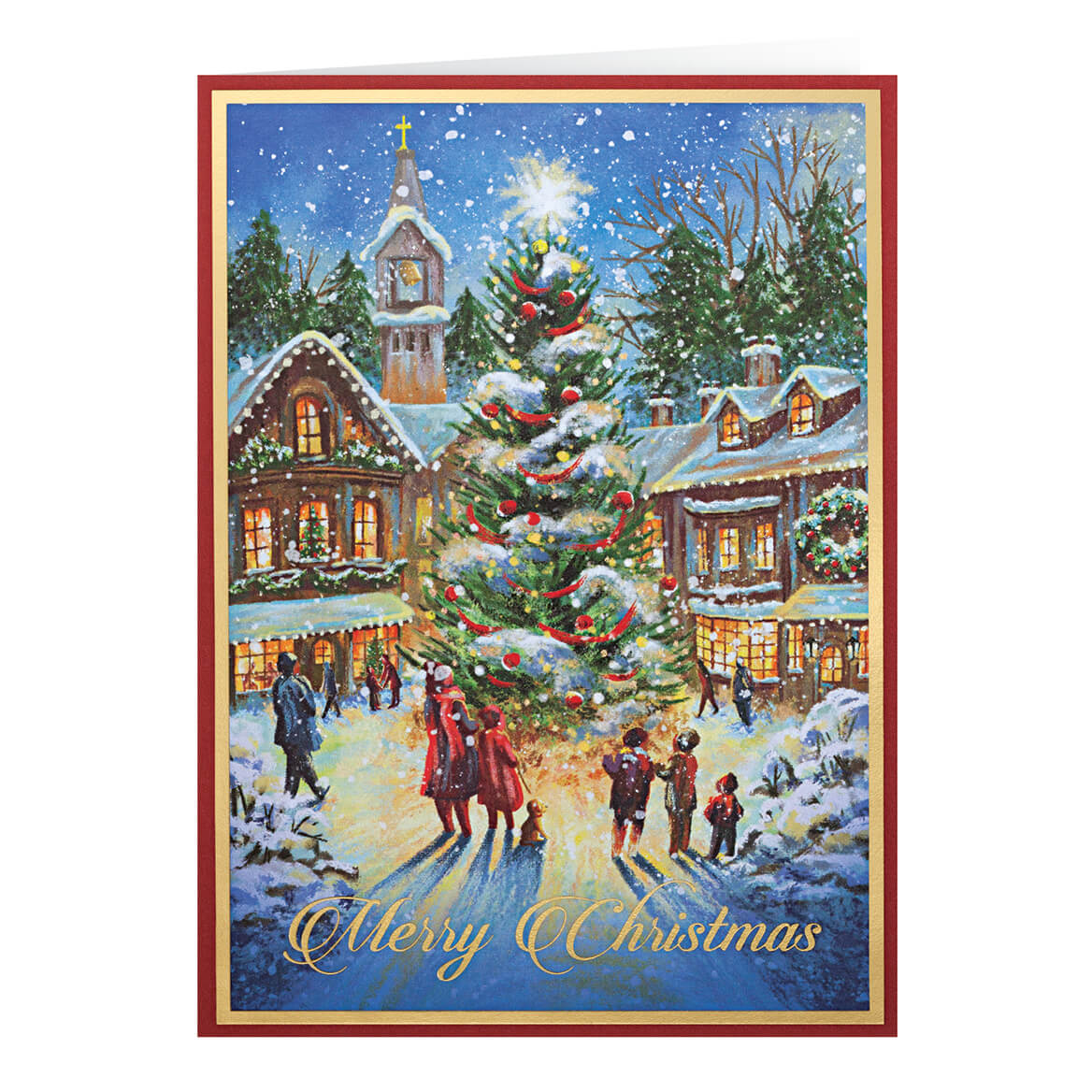 Christmastime Christmas Card Set of 20-364020