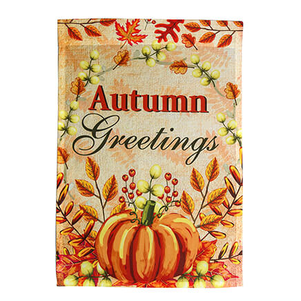 Autumn Greetings Garden Flag 364135